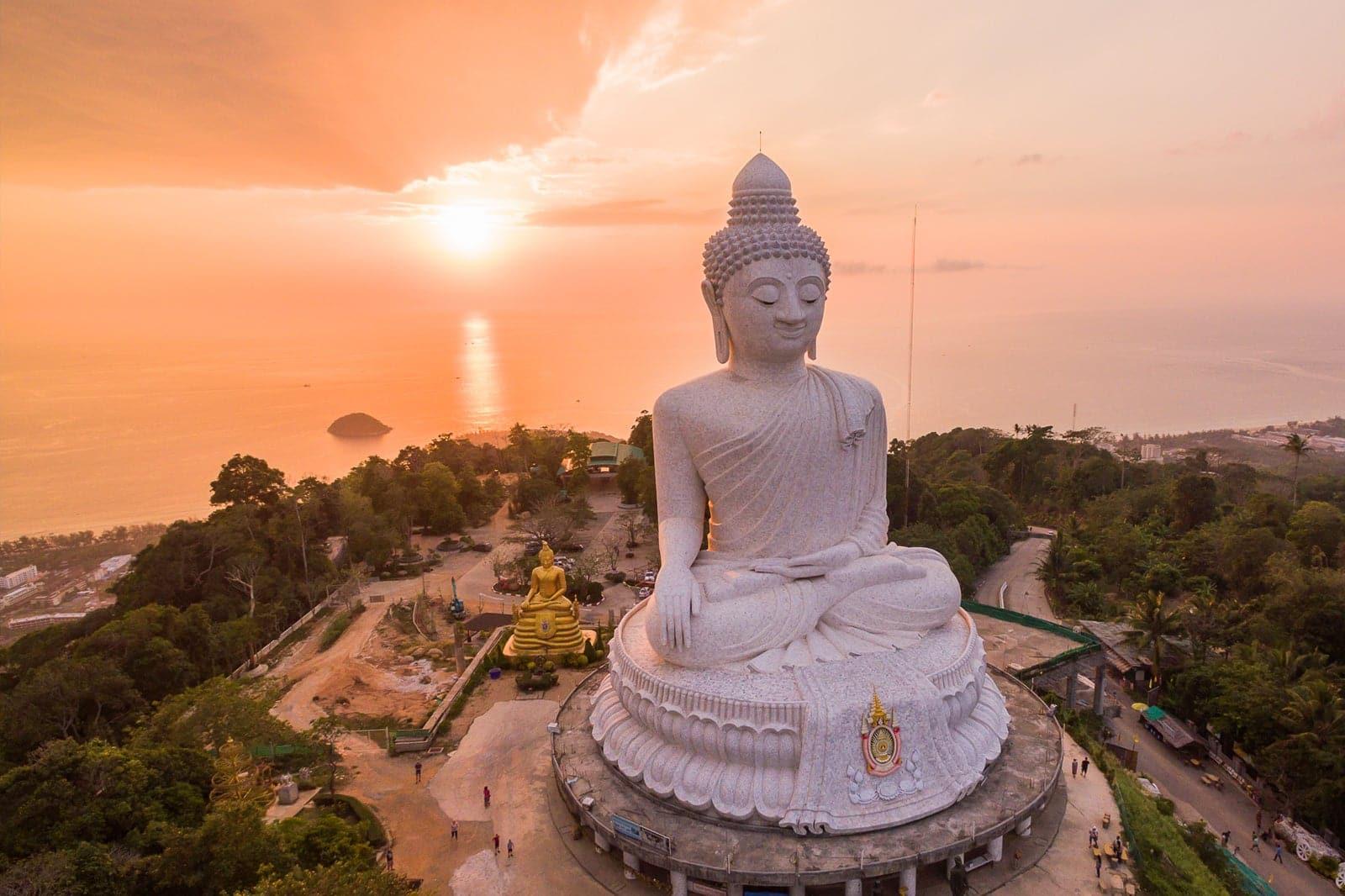 Big Buddha, Ayurveda, Wellness, Yoga Retreats, Phuket Thailand, Mangosteen Ayurveda & Wellness Resort, Number 1 Ayurveda Resort in Thailand, Rawai, Phuket.