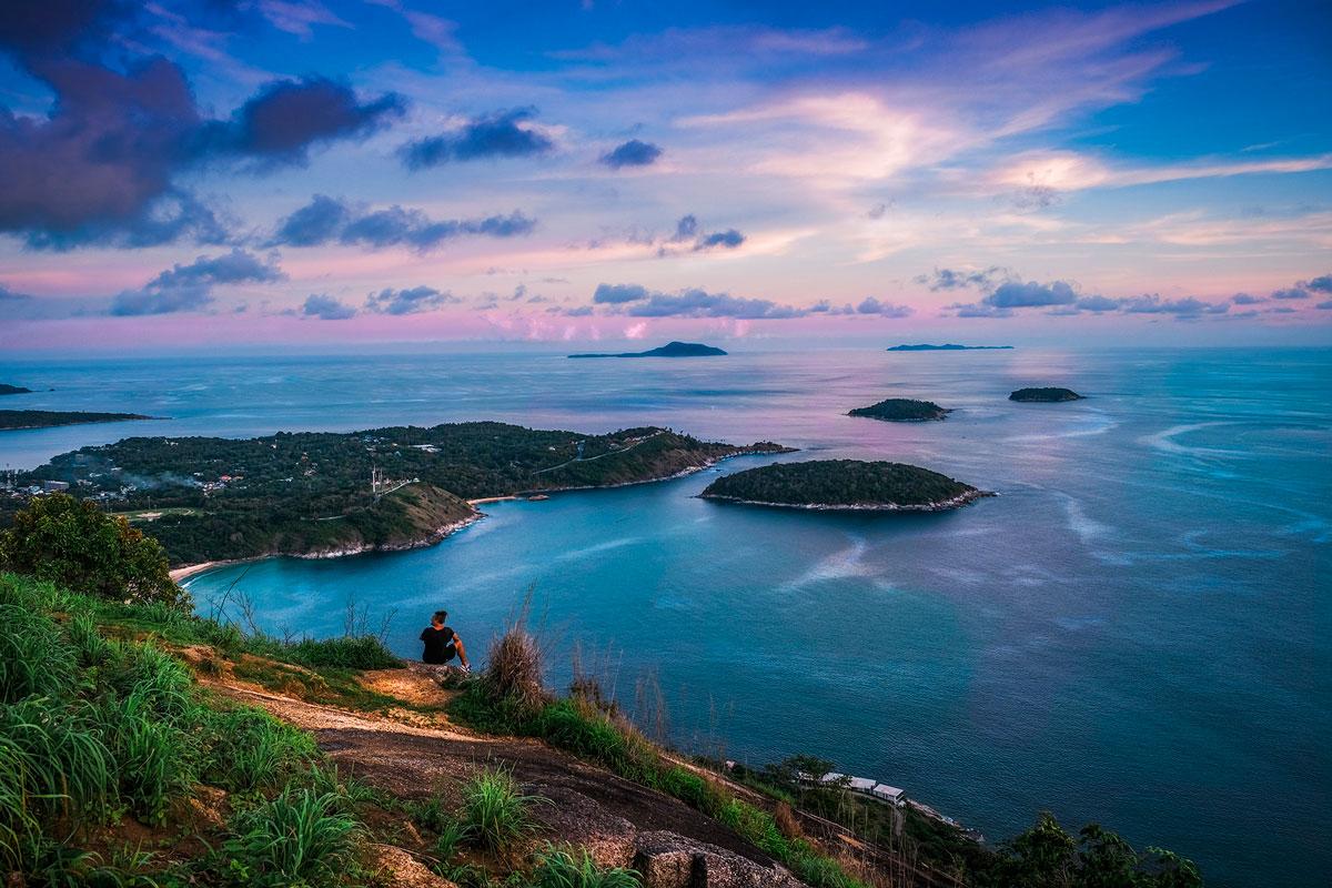 Black Rock Viewpoint, Ayurveda, Wellness, Yoga Retreats, Phuket Thailand, Mangosteen Ayurveda & Wellness Resort, Number 1 Ayurveda Resort in Thailand, Rawai, Phuket.