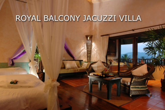 Royal Balcony Jacuzzi Villa