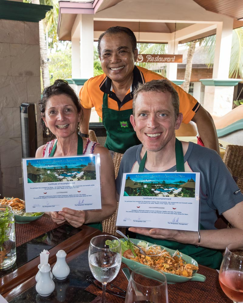 Thai Cooking Classes, Mangosteen Restaurant & Wine Cellar. AUTHENTIC HOME-STYLE THAI CUISINE & MEDITERRANEAN DELIGHTS WITH ASIAN HERBS AND SPICES – ORGANIC, FRESH AND HEALTHY!