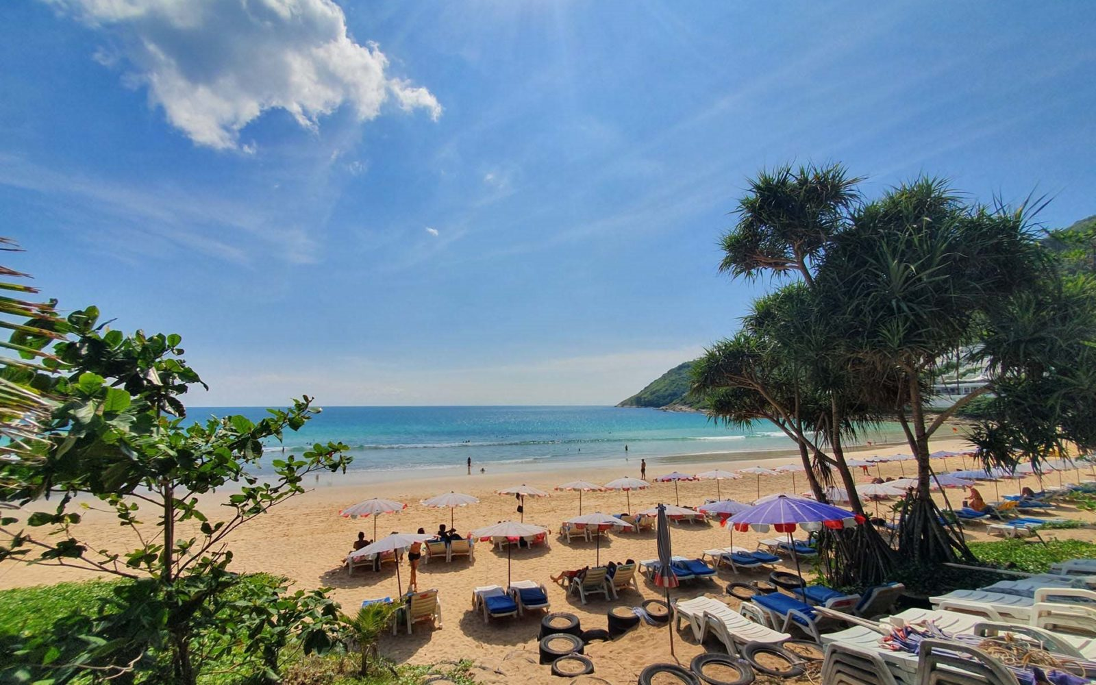 Nai Harn Beach in September, Ayurveda, Wellness, Yoga Retreats, Phuket Thailand, Mangosteen Ayurveda & Wellness Resort, Number 1 Ayurveda Resort in Thailand, Rawai, Phuket.