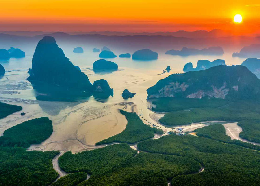 Phangna Bay National Park, Sea Canoe, Caves, Lagoons, Wildlife, Ayurveda, Wellness, Yoga Retreats, Phuket Thailand, Mangosteen Ayurveda & Wellness Resort, Number 1 Ayurveda Resort in Thailand, Rawai, Phuket.