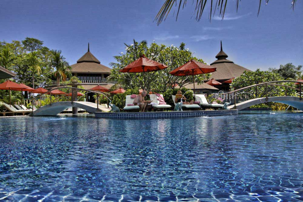 Swimming Pool at Mangosteen Ayurveda & Wellness Resort, Rawai, Phuket