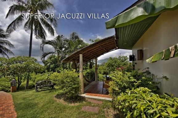 Superior Jacuzzi Villa