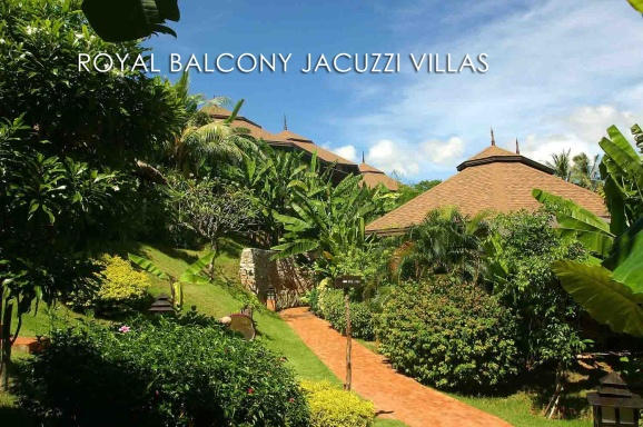 Royal Balcony Jacuzzi Villa