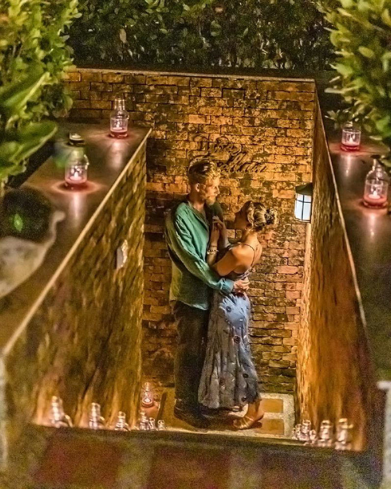 Romantic Honeymooner Wine Cellar Dinner, Mangosteen Restaurant & Wine Cellar. AUTHENTIC HOME-STYLE THAI CUISINE & MEDITERRANEAN DELIGHTS WITH ASIAN HERBS AND SPICES – ORGANIC, FRESH AND HEALTHY!