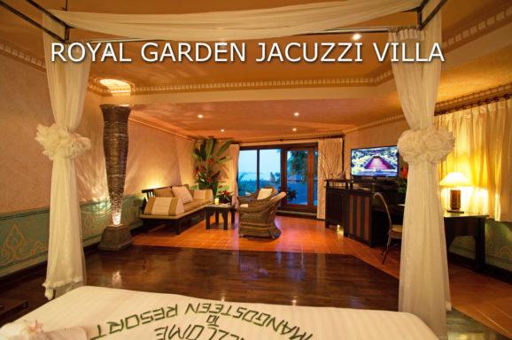 A Royal Garden Jacuzzi Villa at Mangosteen Ayurveda & Wellness Resort, Rawai, Phuket