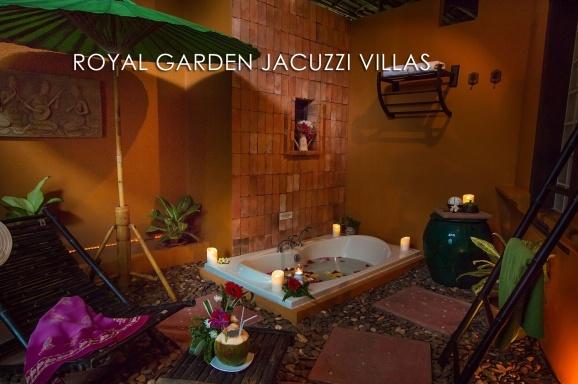 Royal Garden Jacuzzi Villa