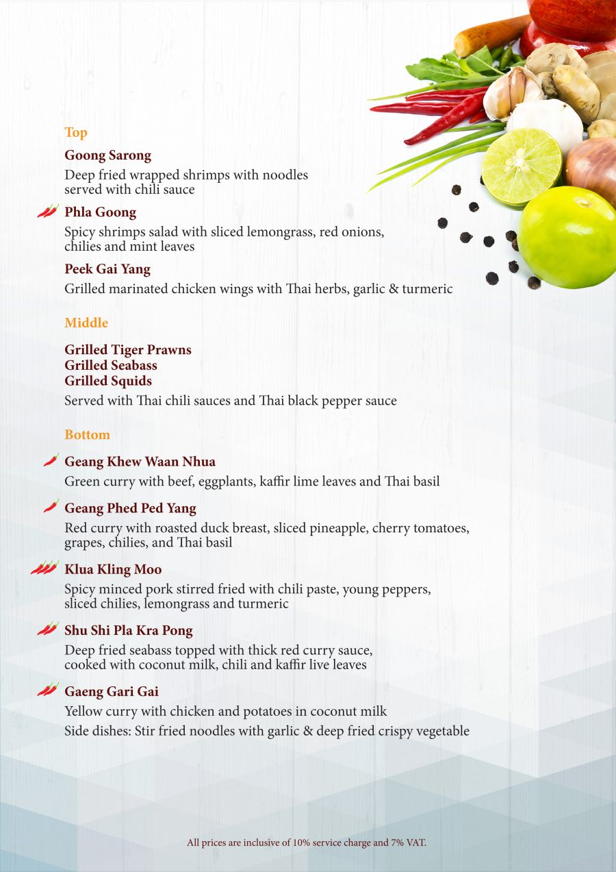 Mangosteen Resstaurant Thai Menu 2016-4