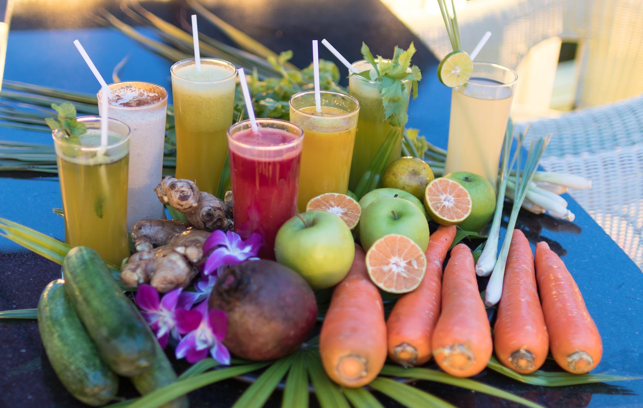 Life-Drinks freshly made by Mangosteen Ayurveda & Wellness Resort, Rawai - Phuket