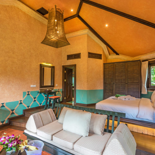 Superior Villa Interior at the Mangosteen Ayurveda & Wellness Resort, Rawai - Phuket,