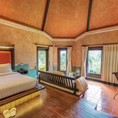 Superior Villa Interior, Mangosteen Ayurveda & Wellness Resort, Rawai - Phuket, Boutique Resort Villas.