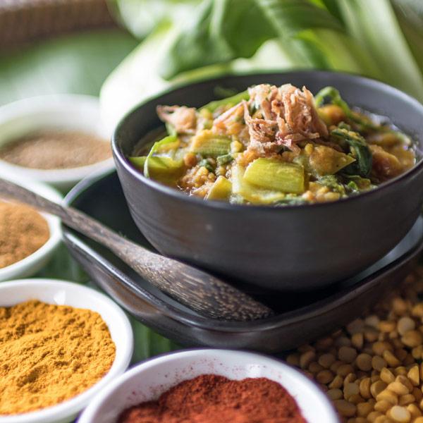 Vegetarian, vegan, organic healthy food and drinks at Mangosteen Ayurveda & Wellness Resort, Rawai, Phuket.