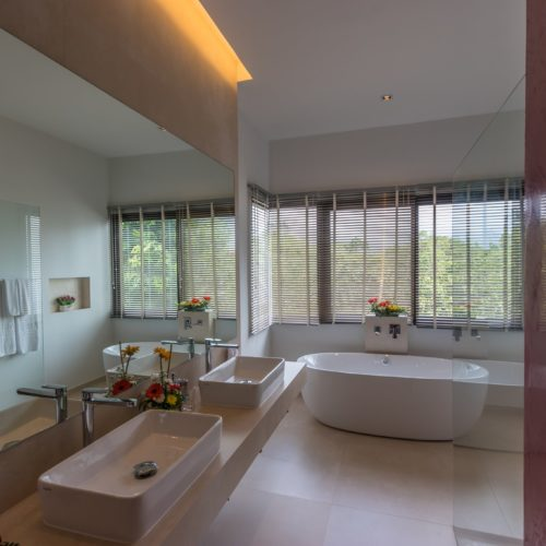 Civetta Pool Villa, a 3 bedroom pool villa with access to MANGOSTEEN AYURVEDA & WELLNESS RESORT, spacious, safe, convenient, fully serviced by Mangosteen Ayurveda & Wellness Resort, Rawai, Phuket.