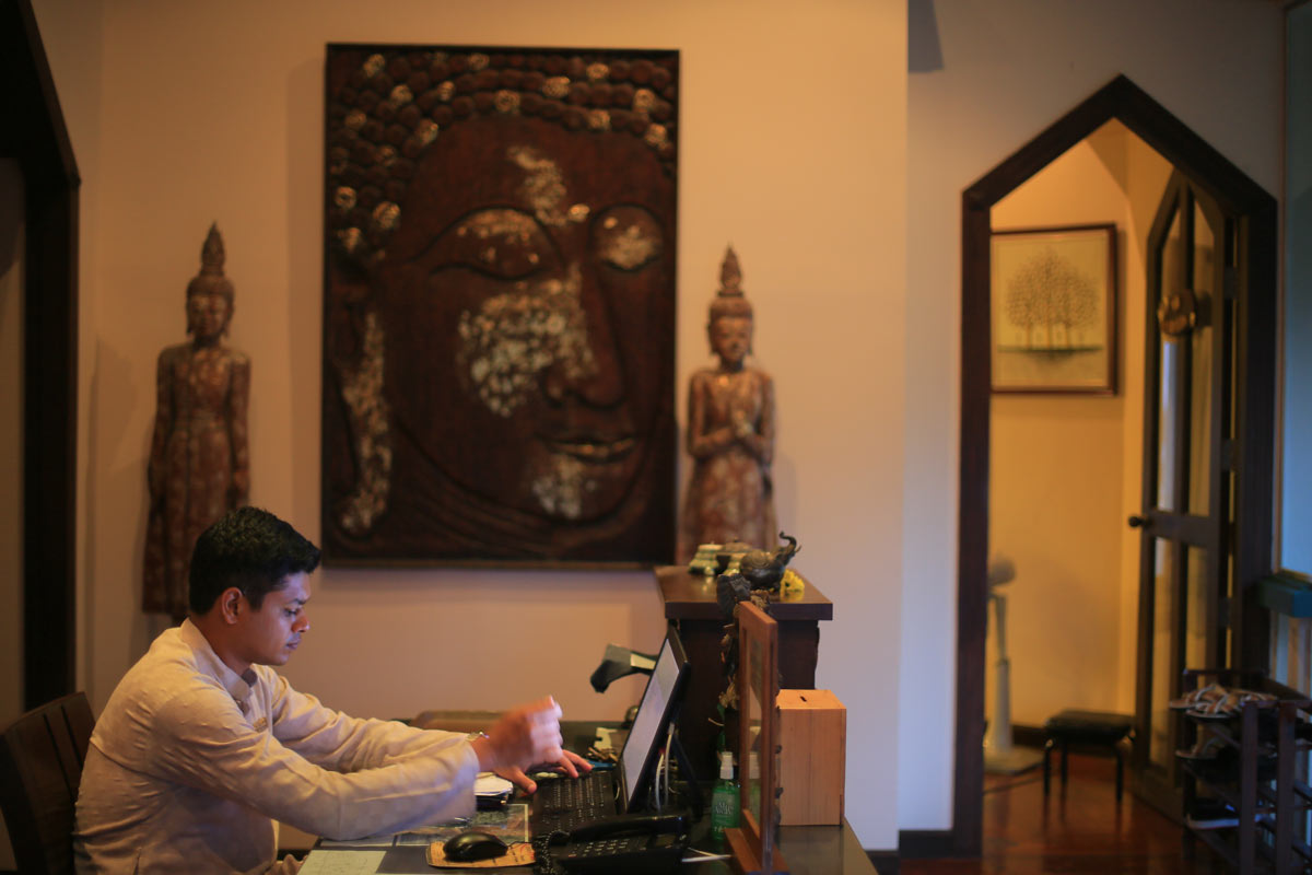 Dr. Subhash, Ayurveda Doctor at Mangosteen Ayurveda & Wellness Resort, Rawai, Phuket.