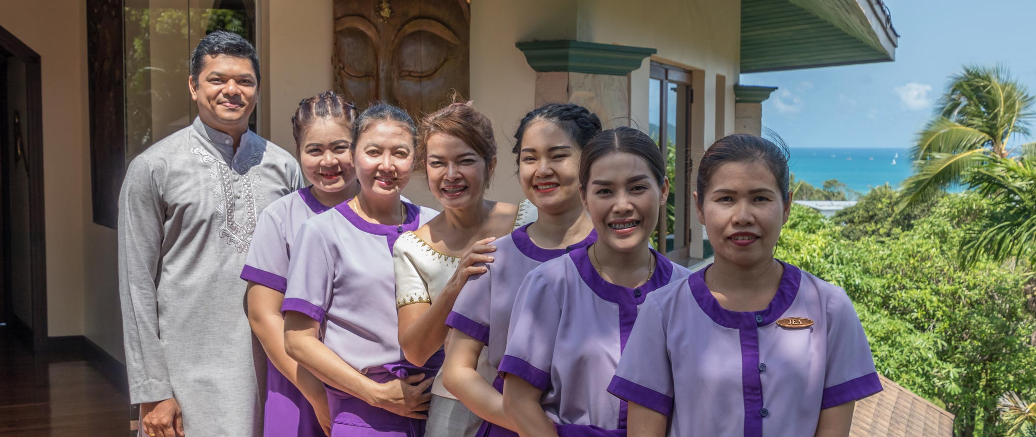 The Mangosteen Spa Team welcomes your to the Mangosteen Ayurveda & Wellness Resort, Rawai, Phuket.