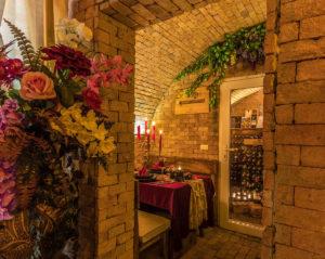 Unique underground wine cellar and a great wine choice at Mangosteen Ayurveda & Wellness Resort, Rawai, Phuket. Book your private wine cellar dinner at Mangosteen Restaurant.