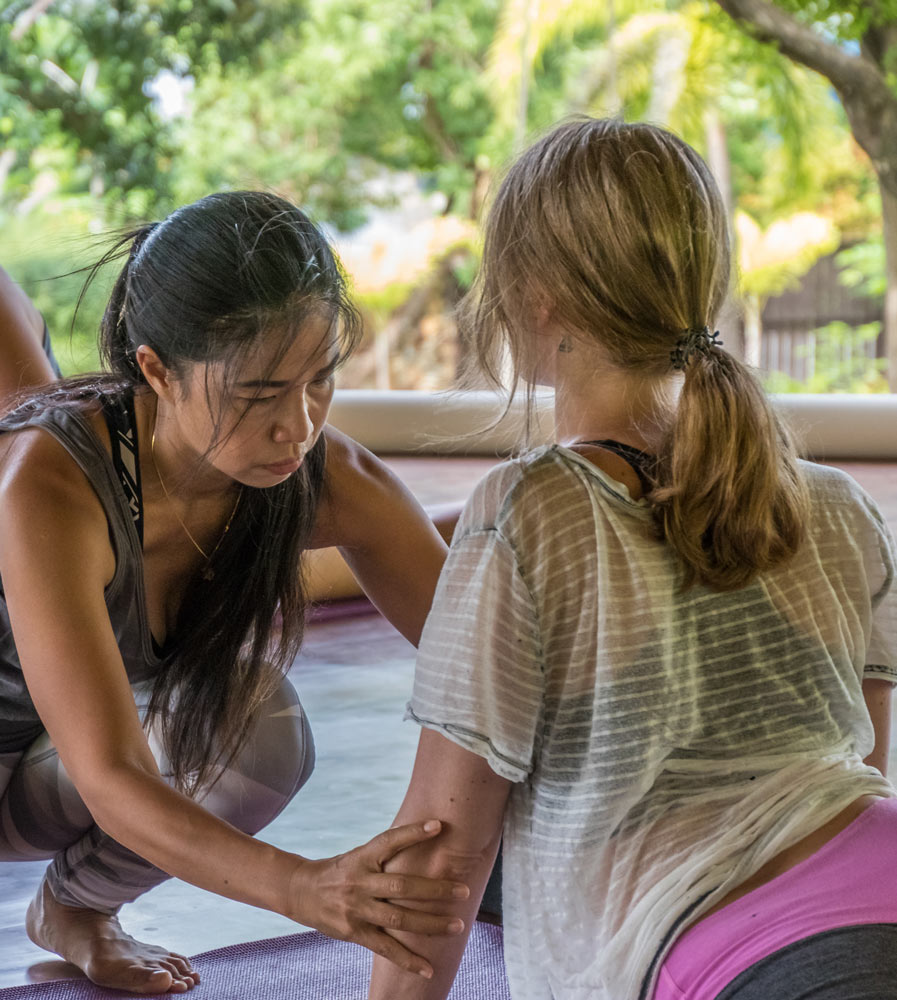 Yoga Retreats with vegetarian, vegan, organic healthy food and drinks at Mangosteen Ayurveda & Wellness Resort, Rawai, Phuket.