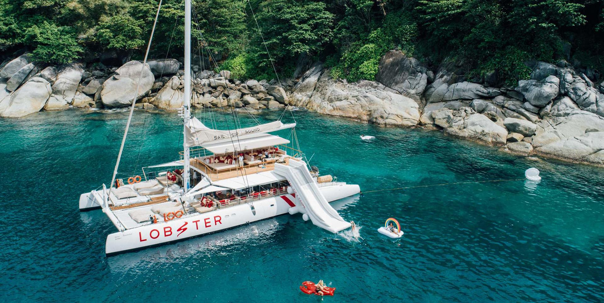 Lobster-Yacht, Honeymoon Resort in Phuket, Honeymoon Package, Romantic Resort, Ayurveda, Wellness, Yoga Retreats Phuket Thailand, Mangosteen Ayurveda & Wellness Resort, Rawai, Phuket.