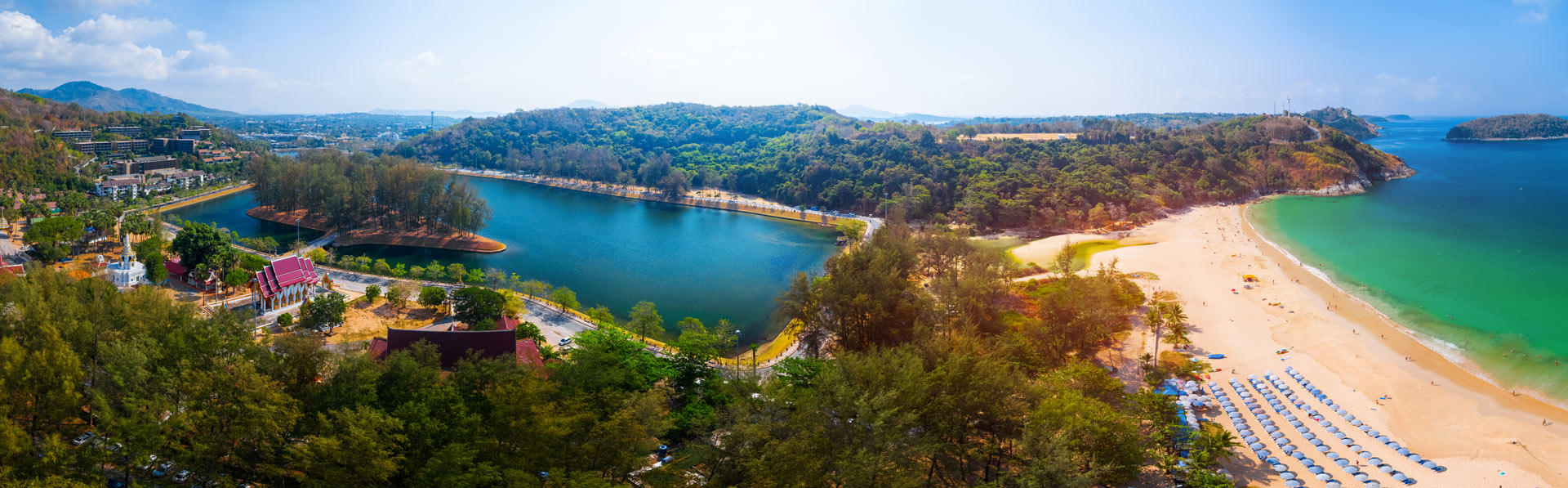 Nai Harn Lake, Fitness Park, Ayurveda, Wellness, Yoga Retreats, Phuket Thailand, Mangosteen Ayurveda & Wellness Resort, Number 1 Ayurveda Resort in Thailand, Rawai, Phuket.