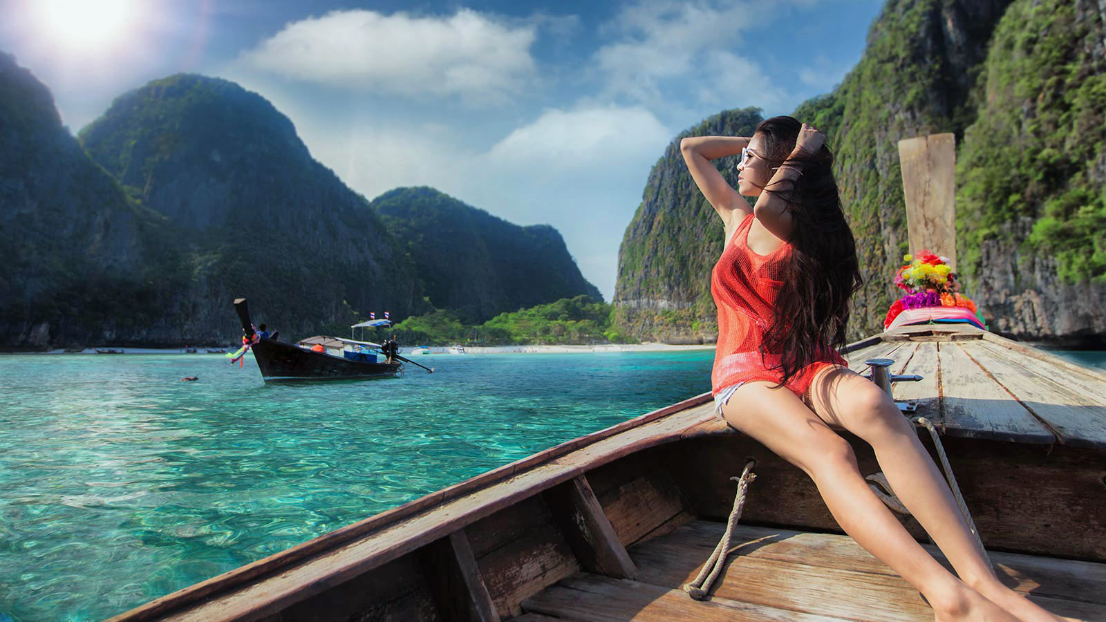 Boat Trip to Phi Phi Islands, Ayurveda, Wellness, Yoga Retreats, Phuket Thailand, Mangosteen Ayurveda & Wellness Resort, Number 1 Ayurveda Resort in Thailand, Rawai, Phuket.