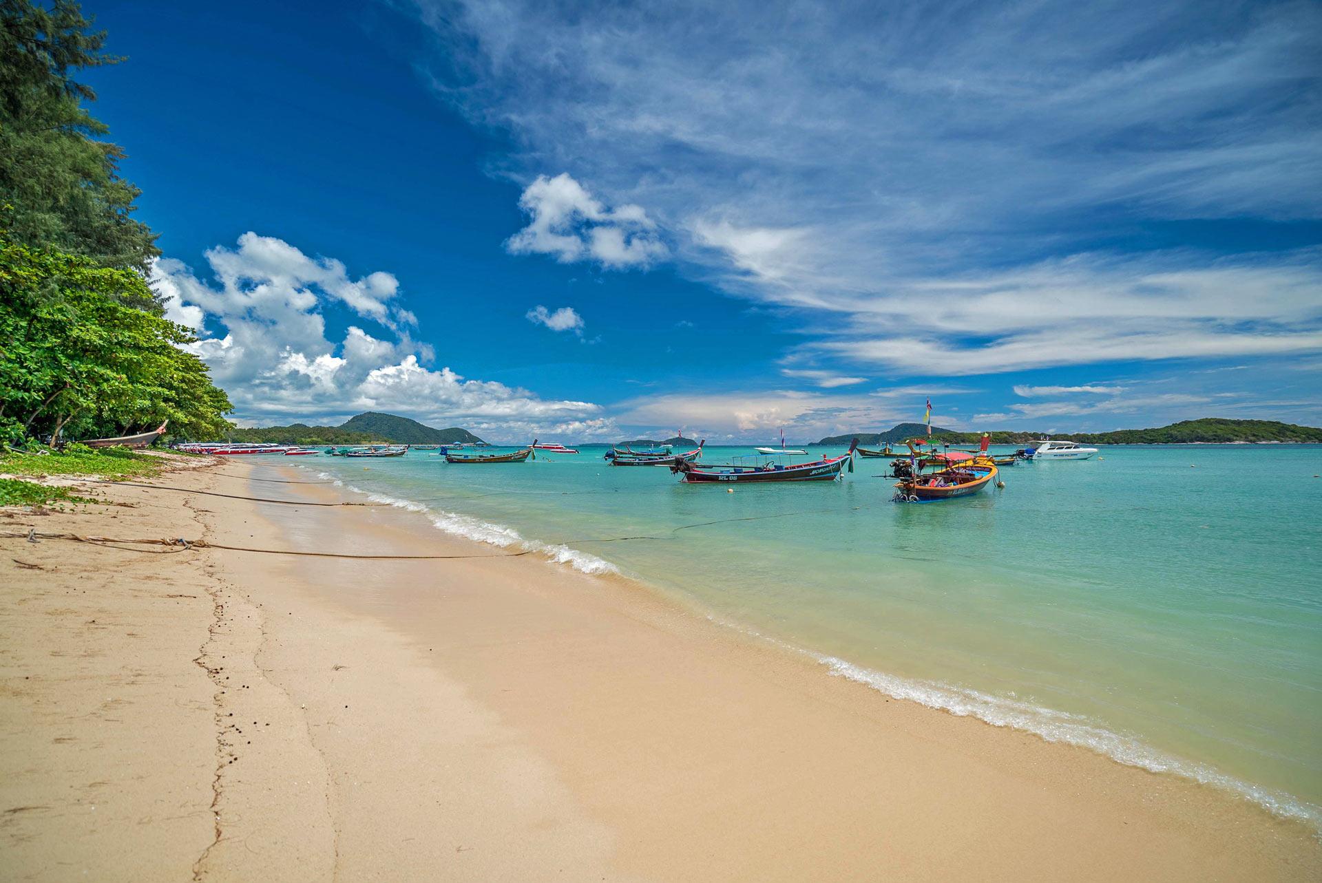 Rawai Beach during Green Season, Ayurveda, Wellness, Yoga Retreats, Phuket Thailand, Mangosteen Ayurveda & Wellness Resort, Number 1 Ayurveda Resort in Thailand, Rawai, Phuket.