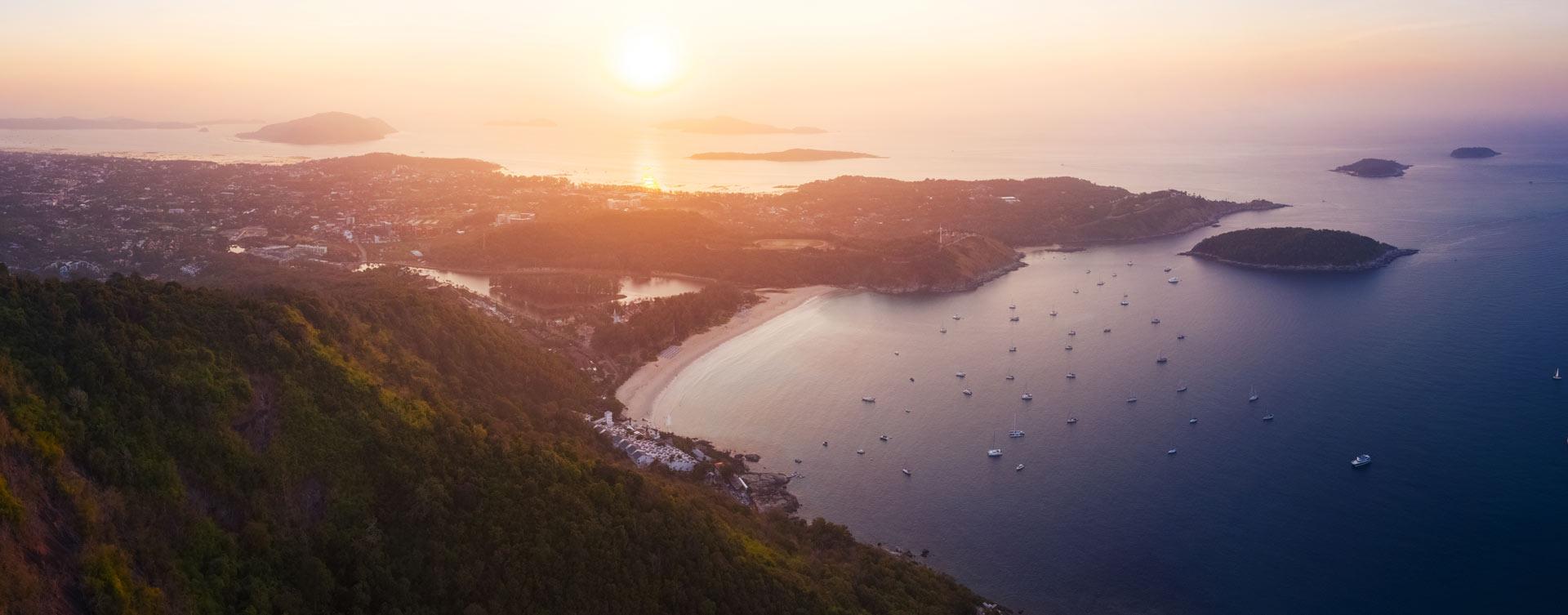 Nai-Harn Beach, Rawai Beach, Promthep Cape, Ayurveda, Wellness, Yoga Retreats, Phuket Thailand, Mangosteen Ayurveda & Wellness Resort, Number 1 Ayurveda Resort in Thailand, Rawai, Phuket.